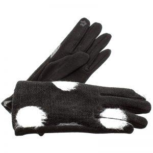 Verde γυναικεία γάντια one size μαύρο 02-604