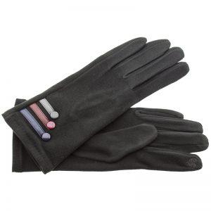 Verde γυναικεία γάντια one size μαύρο 02-605