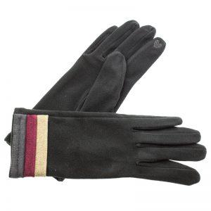 Verde γυναικεία γάντια one size μαύρο 02-606