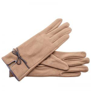 Verde γυναικεία γάντια one size μπεζ 02-607