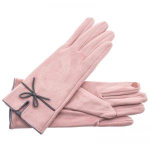 Verde γυναικεία γάντια one size ροζ 02-607