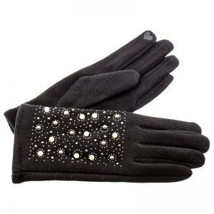 Verde γυναικεία γάντια one size μαύρο 02-609