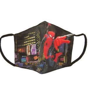 Υφασμάτινη παιδική μάσκα Spiderman