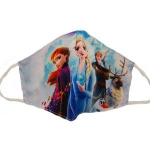 Υφασμάτινη παιδική μάσκα Frozen