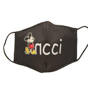 Υφασμάτινη παιδική μάσκα Mickey