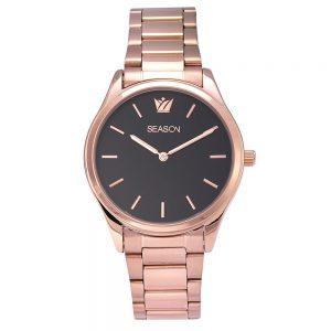 Season γυναικείο ρολόι ροζ-χρυσό 6251-1 Happiness Series