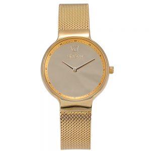 Season γυναικείο ρολόι χρυσό mirror series 4236-1