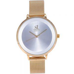 Season γυναικείο ρολόι xρυσό ST 2282-1 Samba Series