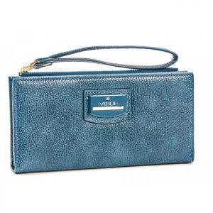 Verde γυναικείο πορτοφόλι μπλε