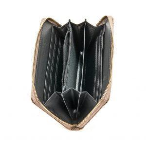 Verde γυναικείο πορτοφόλι μπορντό