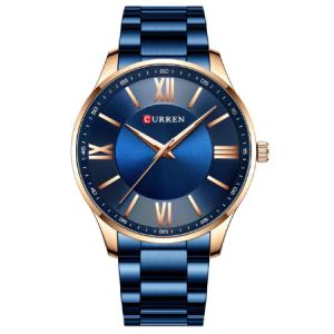 Curren Ανδρικό Ρολόι 8383 μπλε