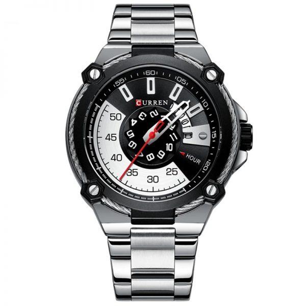 Curren Ανδρικό Ρολόι 8345 ασημί