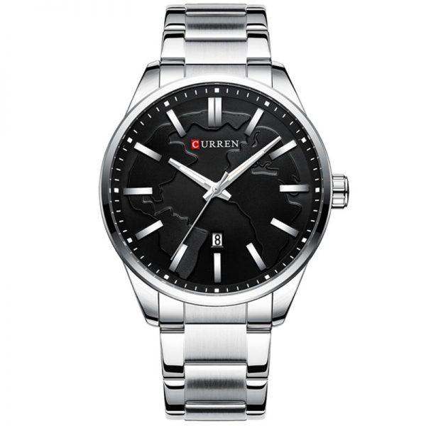Curren Ανδρικό Ρολόι 8366 ασημί