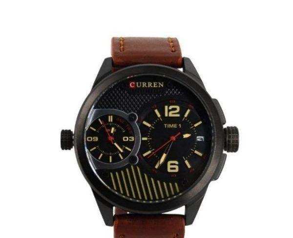 Ανδρικό Ρολόι Curren Μ-8249 καφέ