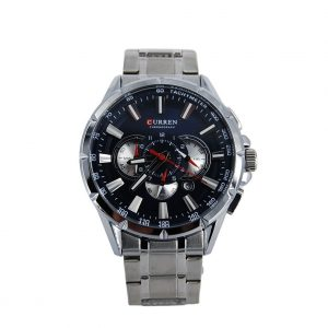 Curren Ανδρικό Ρολόι ασημί M-8363