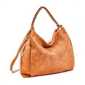 Verde τσάντα ώμου γυναικεία καμηλό 16-5873