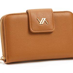 Verde γυναικείο πορτοφόλι καμηλό 18-1105