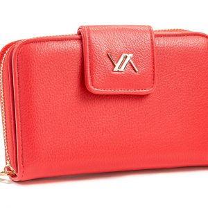 Verde γυναικείο πορτοφόλι κόκκινο 18-1105