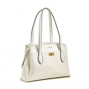 Verde τσάντα ώμου γυναικεία άσπρη 16-5900