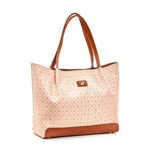 Verde τσάντα ώμου γυναικεία μπεζ 16-5936