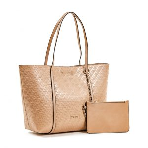 Verde Τσάντα Ωμου Γυναικεία Μπεζ 16-5944