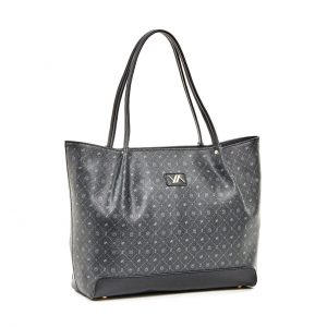 Verde τσάντα ώμου γυναικεία μαύρη 16-5936