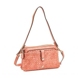 Verde τσάντα χεριού και χιαστί γυναικεία πορτοκαλί 16-5918