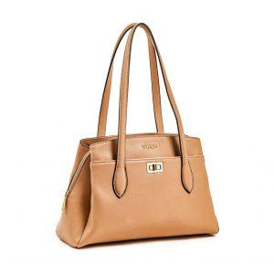 Verde τσάντα ώμου γυναικεία μπεζ 16-5900