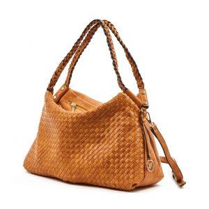 Verde τσάντα ώμου γυναικεία καμηλό 16-5874