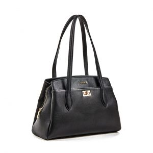 Verde τσάντα ώμου γυναικεία μαύρη 16-5900