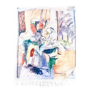 Verde εσάρπα γυναικεία πολύχρωμη 03-2080