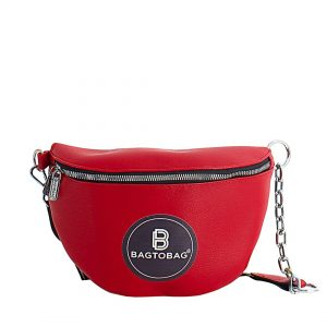 Τσαντάκι BAG TO BAG Γυναικείο μέσης JX-6165-Red