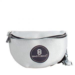 Τσαντάκι BAG TO BAG Γυναικείο μέσης JX-6165-Silver