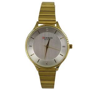 Curren Γυναικείο Ρολόι χρυσό μπρασελέ c-9041-gold