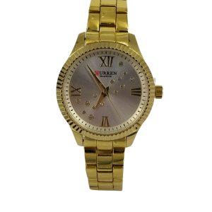 Curren Γυναικείο Ρολόι χρυσό μπρασελέ c-9009-gold