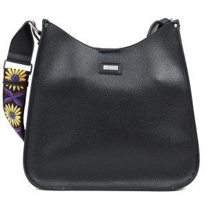Doca τσάντα ώμου μαύρη 17340-Black