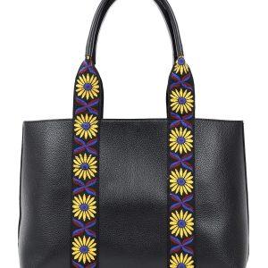 Doca τσάντα ώμου μαύρη 17337-Black
