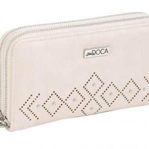 Doca γυναικείο πορτοφόλι άσπρο 65960-White