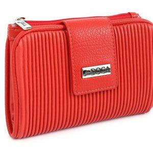 Doca γυναικείο πορτοφόλι κόκκινο 66037-Red