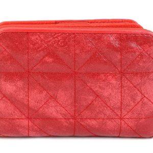 Doca γυναικείο πορτοφόλι κόκκινο 65954-Red