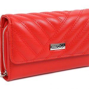 Doca γυναικείο πορτοφόλι κόκκινο 66088-Red