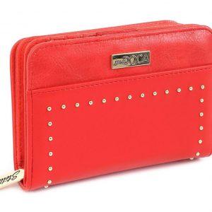 Doca γυναικείο πορτοφόλι κόκκινο 65966-Red