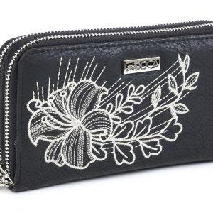 Doca γυναικείο πορτοφόλι μαύρο 65943-Black