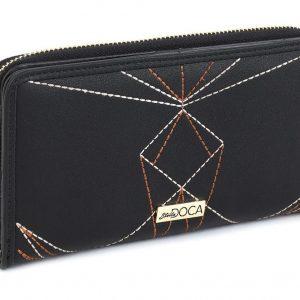 Doca γυναικείο πορτοφόλι μαύρο 66011-Black
