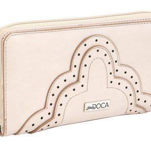 Doca γυναικείο πορτοφόλι μπεζe 66028-Beige