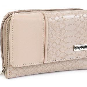 Doca γυναικείο πορτοφόλι μπεζ 66006-Beige