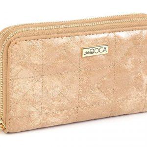 Doca γυναικείο πορτοφόλι κάμελ 65947-Camel