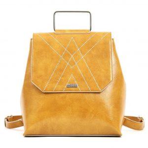 Doca σακίδιο πλάτης γυναικείο κίτρινο 17108-Υellow