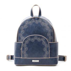 Doca σακίδιο πλάτης γυναικείο μπλε 17262-Blue