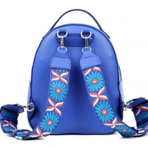 Doca σακίδιο πλάτης γυναικείο μπλε 17345-Blue